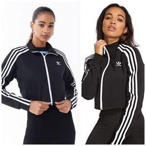 Adidas Crop Track Jacket